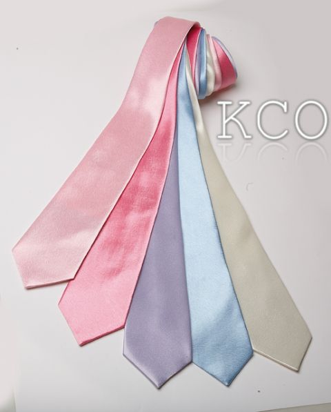 Long Tie Baby Pink